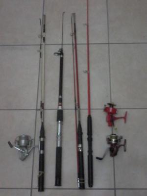 Vendo juego de cañas de pescar