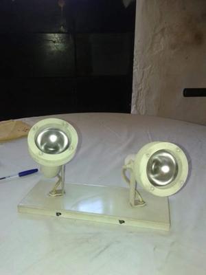 Aplique de techo con 2 luces blanco