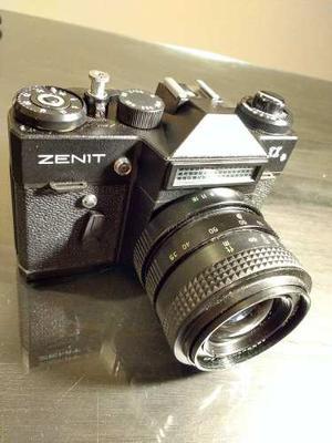 Camara Zenit 11 Ii + Lente Zenit Mc Zoom F=mm -la Plata