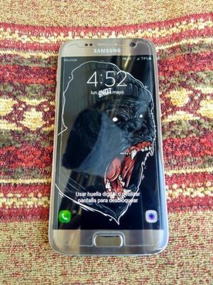 Samsung Galaxy S7 flat gold