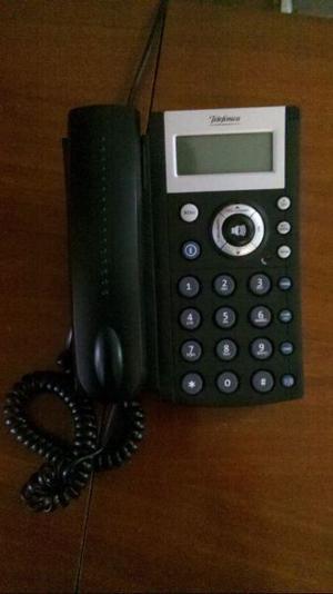 Telefono Fijo Telefonica con pantalla