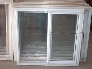 ventana aluminio blanco nueva