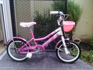 Bicicleta Musetta Rodado 14 Excelente Estado Y Lista!