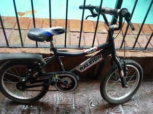 Bicicleta Raleigh Modelo MXR Rodado 16