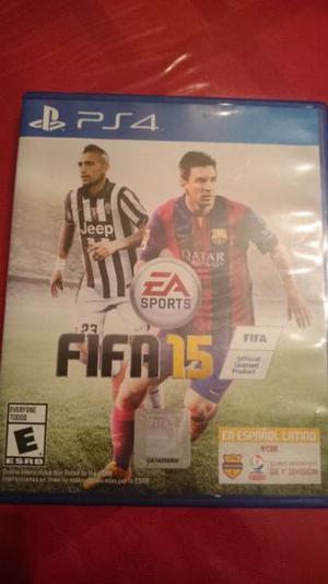 Juego PS4, FIFA 15, fisico, original