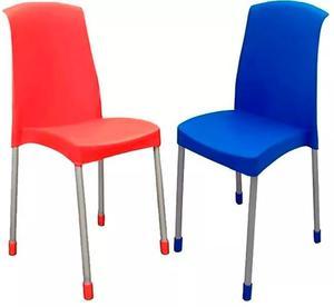 Silla sillon de plastico reforzado apilables posot class for Sillas de plastico
