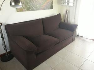 Sillon 3 cuerpos chenille impecable