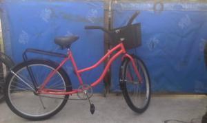 Vendo bicicleta de paseo de mujer rodado 26