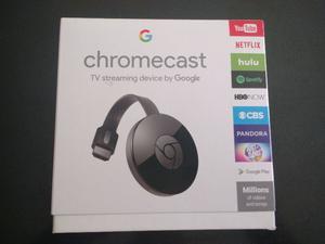 Vendo chromecast2 nuevos en caja 1x$x$