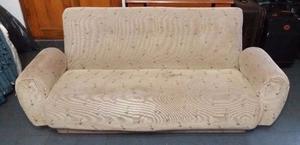 Vendo sillón 2 cuerpos tapizado en tela