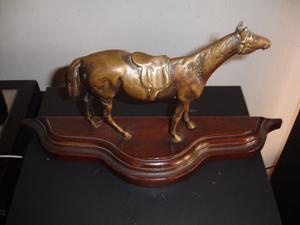 caballo de bronce