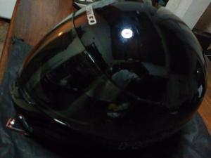 Cascos para motocicleta. Negro Talle S/8 Gris y negro Talle