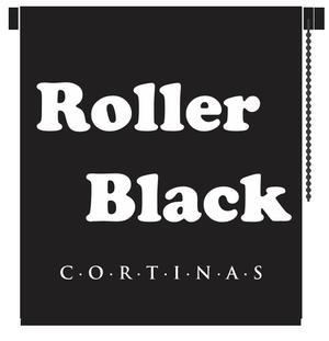 Cortinas Roller Black