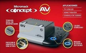 Estabilizador Tension Trv Concept Av va Audio Video