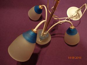 araña de 3 luces marca ronda