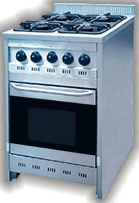 cocina de 60 cm corbelli con horno visor