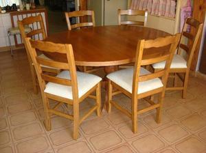 sillas provenzal con asiento de junco, madera y tapizada