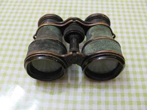 Binoculares Antiguos Franceses De Colección