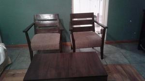 COMBO 2 sillones y mesa ratona