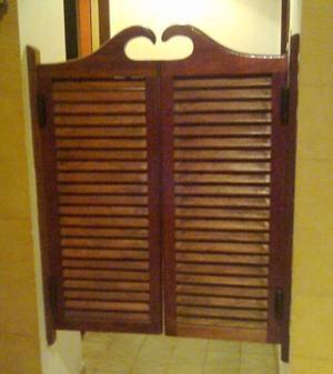 Puertas plegadizas de madera maciza posot class for Puertas madera maciza