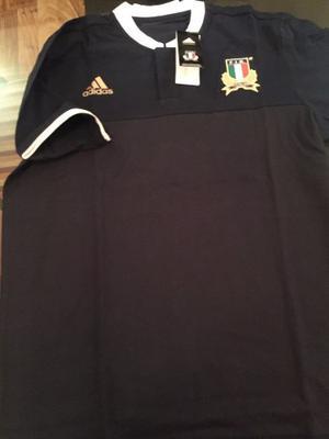 Polo Selección Rugby Italia Original Nuevo Con Etiq Y Bolsa