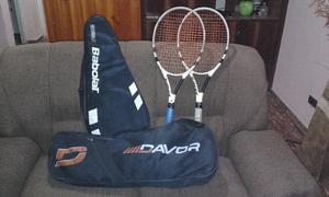 Vendo raquetas con fundas y bolso