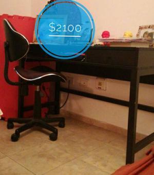 vendo escritorio y silla para escritorio