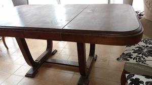 Vendo mesa de comedor p 10 personas posot class for Mesa algarrobo usada