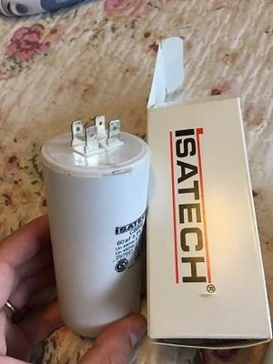 Capacitor Para Aire Acondicionado 60 Mf Isatech Nuevo