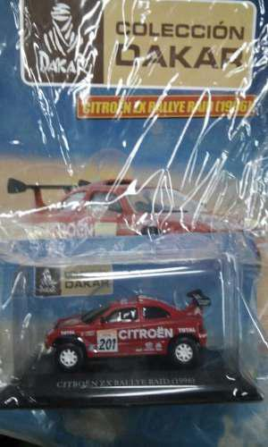 Dakar Coleccion Citroen Zx Rallye Raid - Pjm3