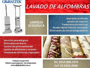 LAVADO DE ALFOMBRAS Y CARPETAS