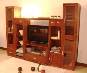 Muebles de algarrobo y quebracho somos chaco posot class Mueble de algarrobo modular