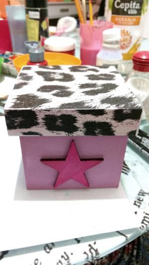 Vendo cajas artesanales, modelos unicos