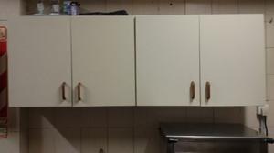 alacena 4 puertas con estantes