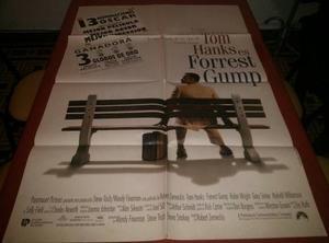 Forrest Gump Afiche De Cine Original
