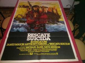 Rescate Suicida Afiche De Cine Original