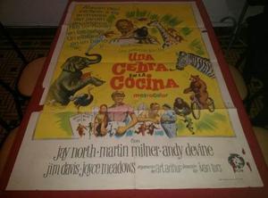 Una Cebra En La Cocina Afiche De Cine Original