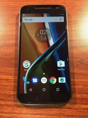 VENDO Moto G4 16GB LIBRE IMPECABLE