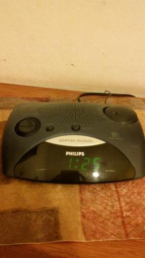 radio reloj despertador philips...am y fm