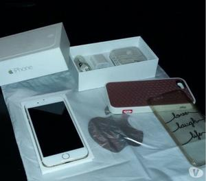 VENDO IPHONE 6 GOLD 16 GB IMPECABLE COMPLETO
