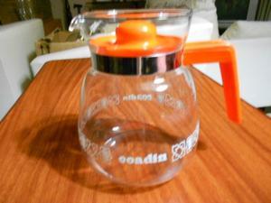 cafetera de vidrio