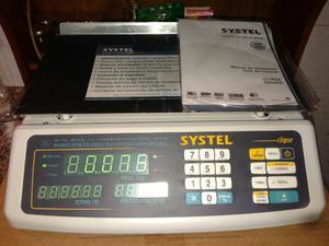 Balanza digital Systel de 30 kg.
