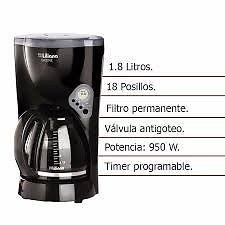CAFETERA ELECTRICA 18 POCILLOS en cuotas