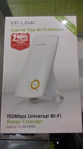 Extensor de señal Wifi Tp Link Nuevos en caja.