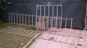 Rejas de hierro redondo usada 2 planchas posot class for Rejas de jardin