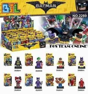 Lego Simil Batman Harley Quinn Joker Deadpool Loky X 8