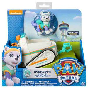 Paw Patrol Everest`s Ruescue Snowmobile, Vehicle And Figure