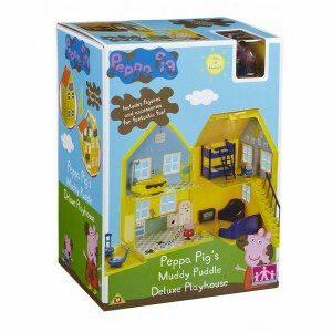 Peppa Pig Casa Deluxe Con Figuras