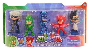 Pj Masks / Set De 5 Figuras / Original