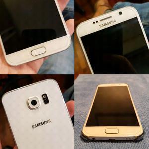 Samsung Galaxy S6 32gb Blanco Impecable
